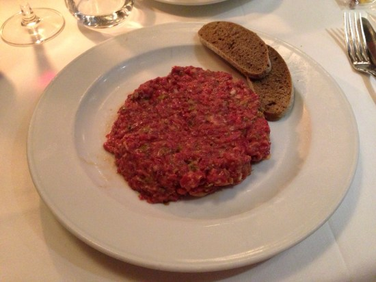 Flanigan. Steak tartar