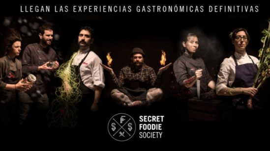 Cartel de la Secret Foodie Society