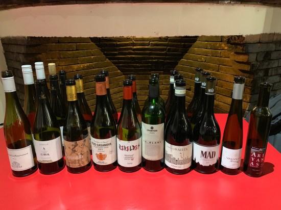 La selección de vinos