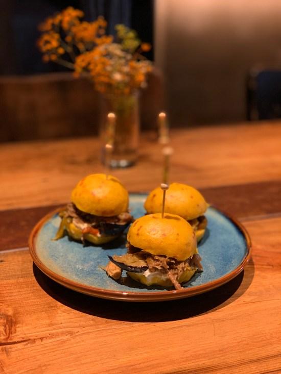 Bao burger de cordero