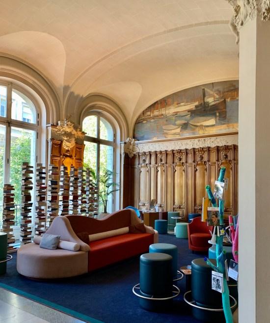 Hall del Hotel Mercure Lyon Centre Château Perrache