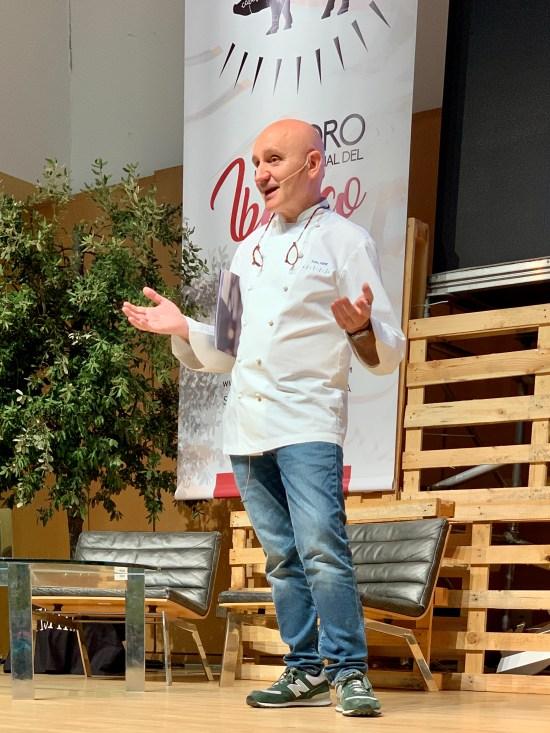 El chef Toño Pérez del restaurante Atrio