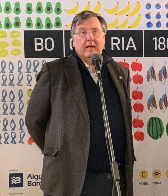 Sr. Salvador Capdevila, presidente de La Boqueria