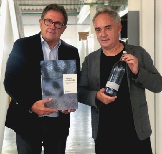 Joan Fornós y Ferran Adrià