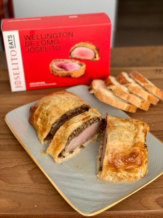 Wellington de lomo Joselito, caja de Joselito Eats