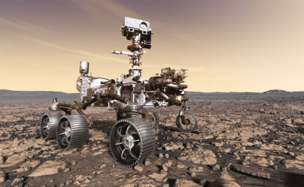 A Robot that is expected to be sent to Mars to retrieve ...