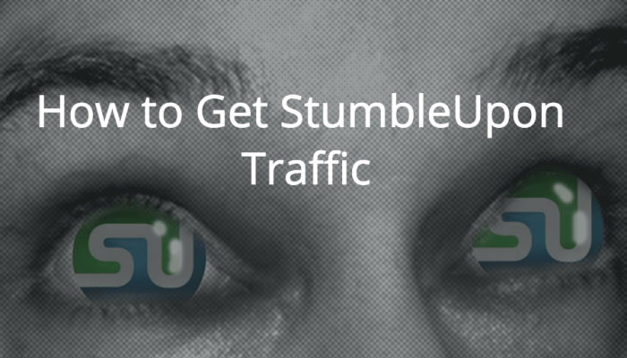 get stumbleupon traffic