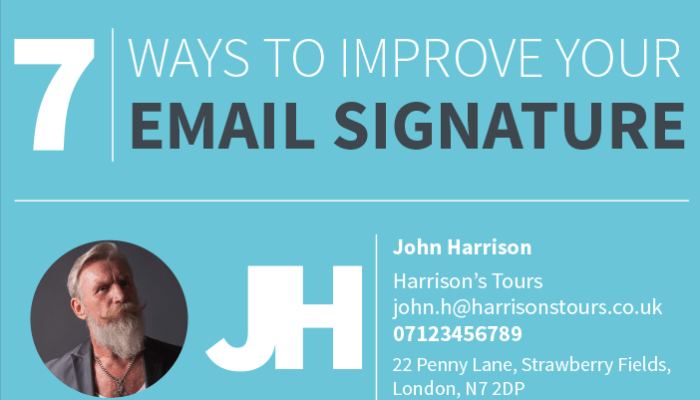 create perfect email signature
