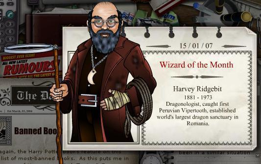 Harvey Ridgebit