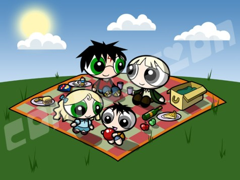 Picnic de Draco y Harry