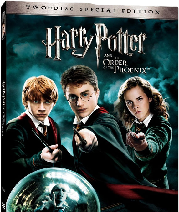Orden del Fénix en DVD