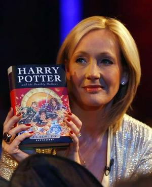 J.K Rowling y Harry Potter and The Deathly Hallows