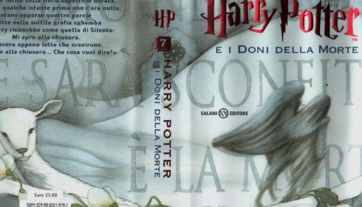 Portada Italiana Harry Potter