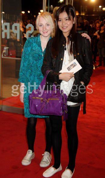 Evanna Lynch y Katie Leung