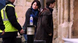 Fotografías de Daniel Radcliffe en Rodaje de 'Harry Potter y el Príncipe Mestizo' (Catedral Gloucester)