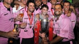 Daniel Radcliffe asiste a la final de 'Twenty20'