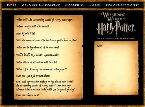 2010 Parque Harry Potter