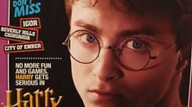 Fotografía Promocional de Harry Potter en revista 'Famous Kids'