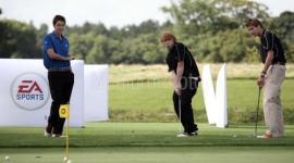 Imágenes de Rupert Grint y James & Oliver Phelps en 'EA SPORTS Tiger Woods PGA 09'