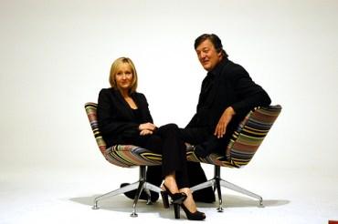 Fotografías Promocionales de JK Rowling y Stephen Fry