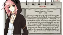Nymphadora Tonks – Mago del Mes Octubre