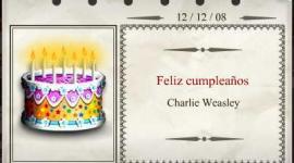 Feliz Cumpleaños, Charlie Weasley!