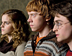 Hermione, Ron y Harry