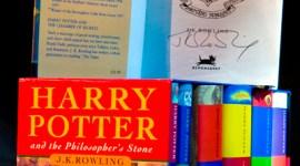 Anunciada Próxima Subasta de Set de Libros de Harry Potter Firmados por JK Rowling