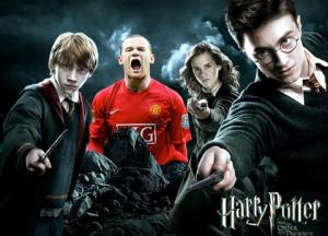 Wayne Rooney Fanatico de Harry Potter