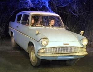 Ford Anglia de Harry Potter y la Camara Secreta