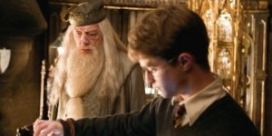 Dumbledore y Harry
