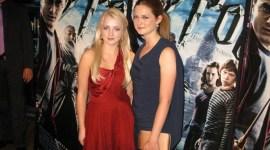 Bonnie Wright y Evanna Lynch asisten a la Premiere de 'HP6' en Dinamarca