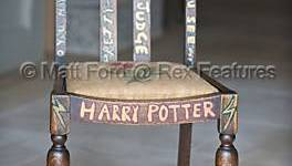 Se Subastará la Silla de JK Rowling