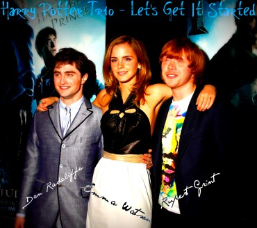 Video del Mes: Harry Potter Trio | Let's Get It Started