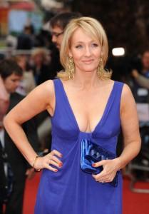 J.K. Rowling HBP Premiere