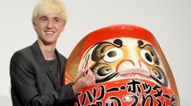 Tom Felton Asiste a la Premiere de 'El Misterio del Príncipe' en Tokyo