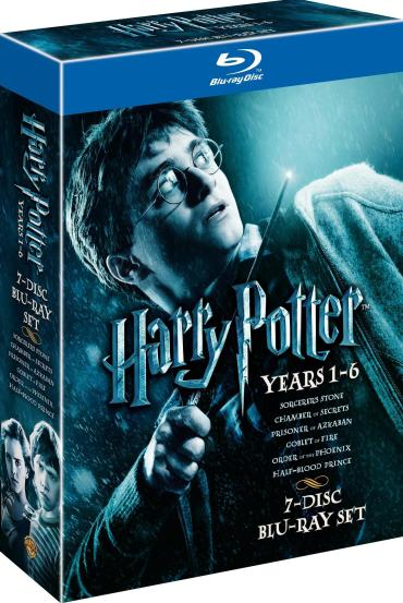 Nuevos imágenes del Box-set con las 6 películas y el juego en DVD de Harry Potter