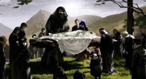 Funeral de Dumbledore