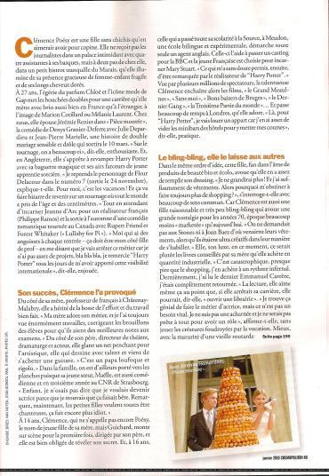 Clémence Poésy Habla de su Regreso como Fleur Delacour en 'Las Reliquias de la Muerte'