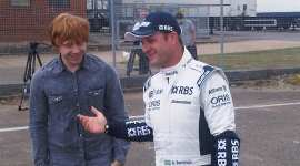 Primera Imagen de Rupert Grint y Rubens Barrichello para la Serie de TV 'Top Gear'