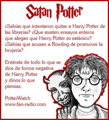 "¿Potter Satánico? En ""Potter Watch"""
