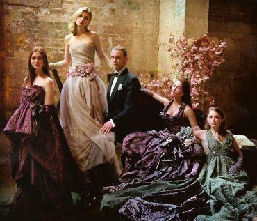 Nueva Imagen de Bonnie Wright y Jamie Campbell Bower en Sesión para 'Vanity Fair'
