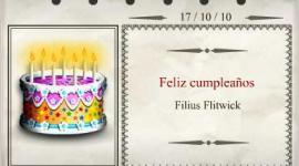 Feliz Cumpleaños, Filius Flitwick!