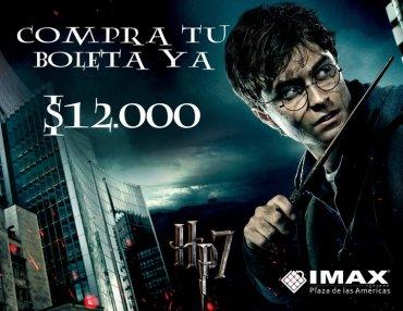 IMAX Inicia Pre-Venta de Entradas para 'Las Reliquias de la Muerte, Parte I' en Colombia