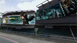 Invaden Calle de Londres con Impresionantes Banners en 3D de 'Las Reliquias, Parte I'