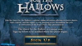WB Lanza 'Quest for the Hallows' para Celebrar el DVD/Blu-ray de »Las Reliquias de la Muerte, I'