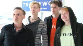 Rupert Grint, en la Segunda Sesión Promocional de su Próxima Película 'Comrade' en Suecia