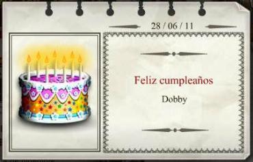 Feliz Cumpleaños, Dobby!