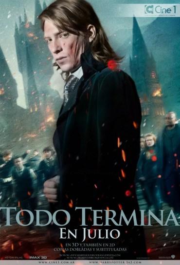 (Act.) ¿Nuevo Póster de 'Las Reliquias de la Muerte, Parte II con Bill Weasley Como Figura Central? [FALSO]