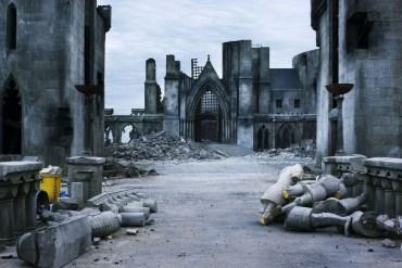Nuevas Imágenes de los Escenarios de Rodaje de 'Las Reliquias de la Muerte, Parte II'